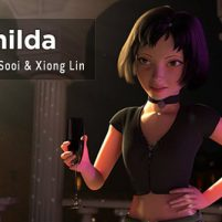 "Female Character Rig For Maya ""Matilda"" – by Leon Li-Aun Sooi and Xiong Lin"