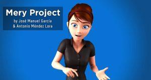 """Female Character Rig For Maya """"Mery"""" – by José Manuel García Alvarez & Antonio Méndez Lora."""